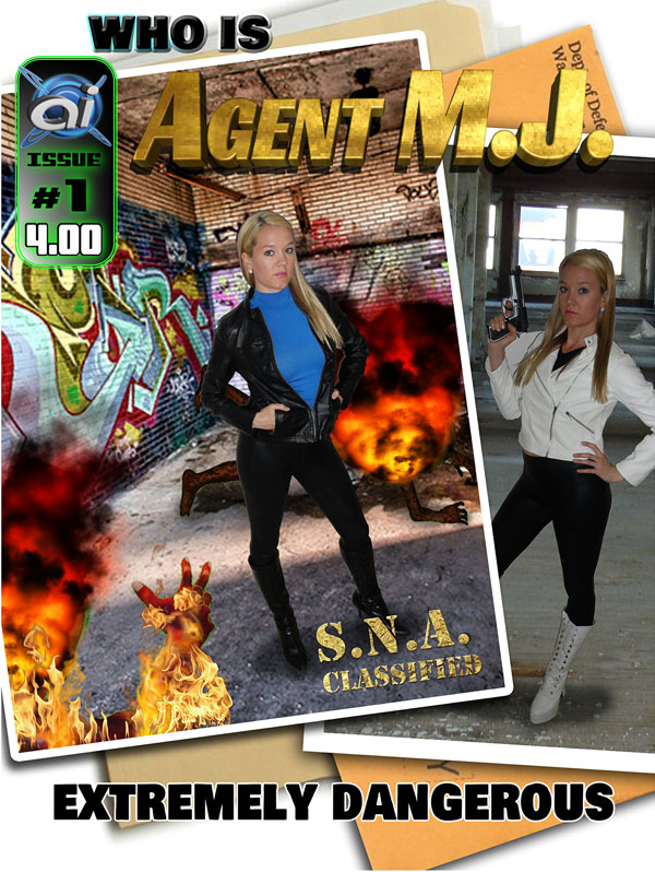 Agent MJ #1 Cover