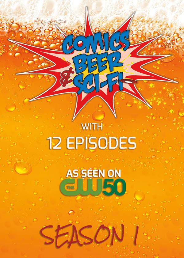 Comics Beer & Sci-Fi Season 1 DVD