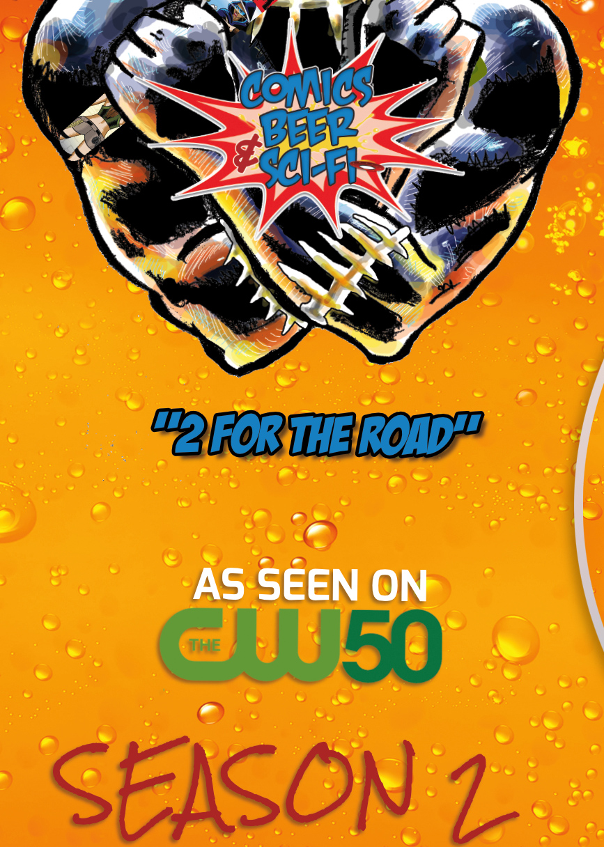Comics Beer & Sci-Fi Season 2 on DVD
